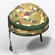 Casque militaire 3d model