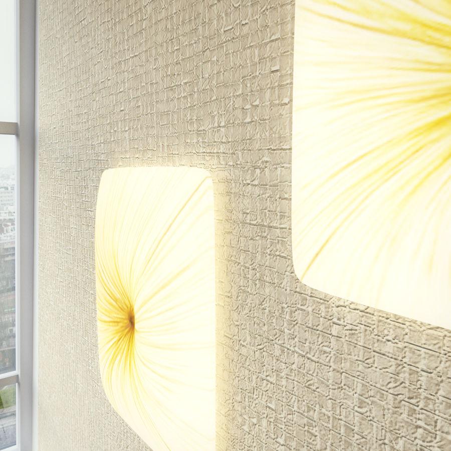 Luminaire Aqua Creations Nara royalty-free 3d model - Preview no. 7