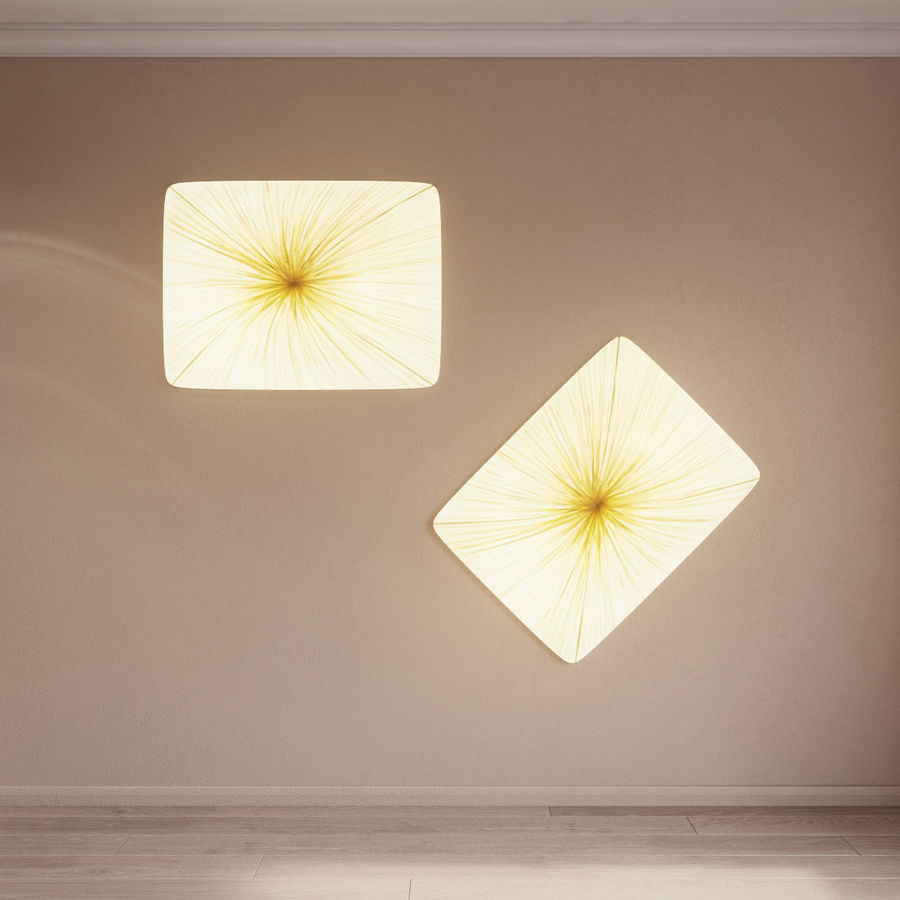 Luminaire Aqua Creations Nara royalty-free 3d model - Preview no. 3