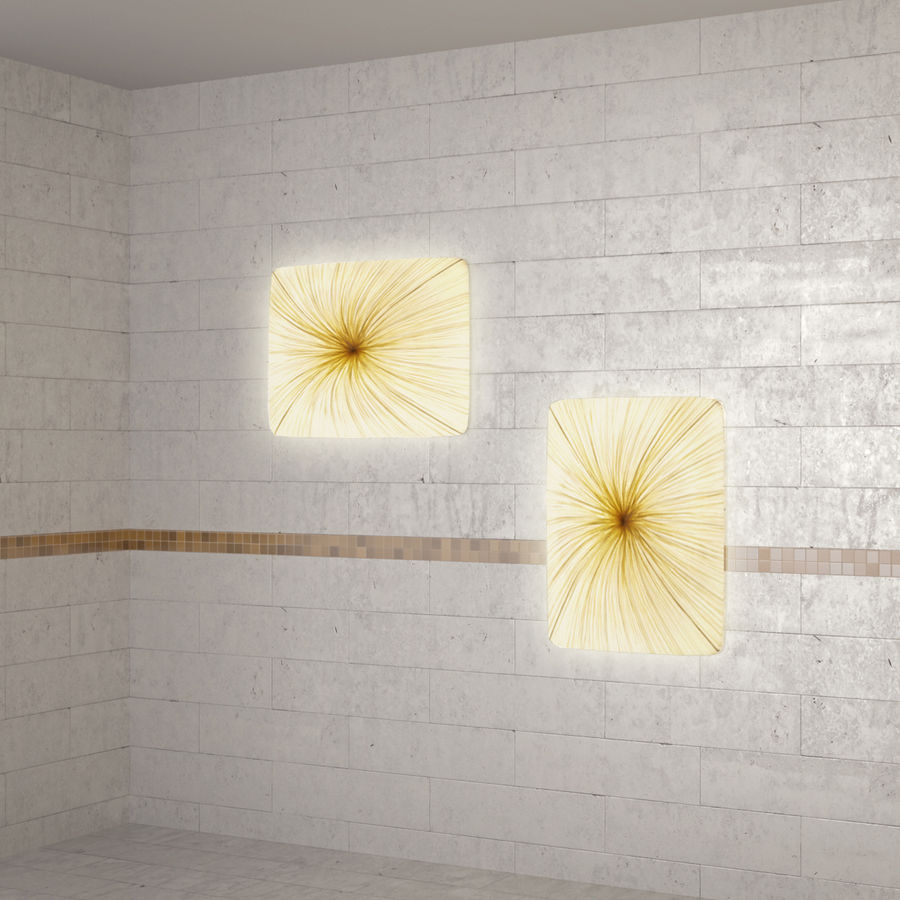 Luminaire Aqua Creations Nara royalty-free 3d model - Preview no. 8