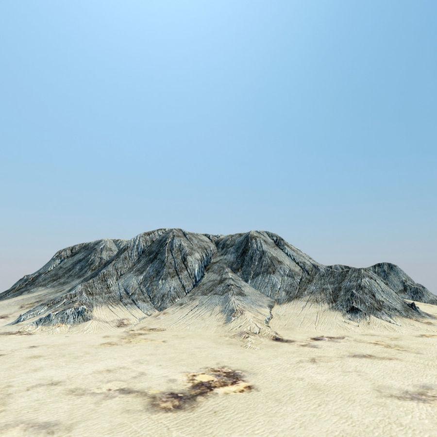 płaskowyż terenu royalty-free 3d model - Preview no. 1