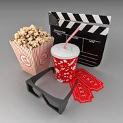 Cinema Elements 3d model