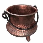Vintage Copper Pot 3d model
