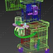 Maszyna do znieczuleń medycznych Ather 3d model