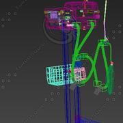 병원 환풍기 3d model
