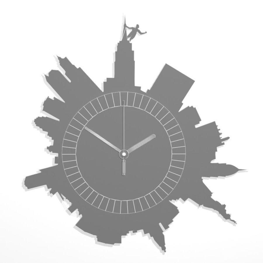 Relógio de Nova York royalty-free 3d model - Preview no. 5