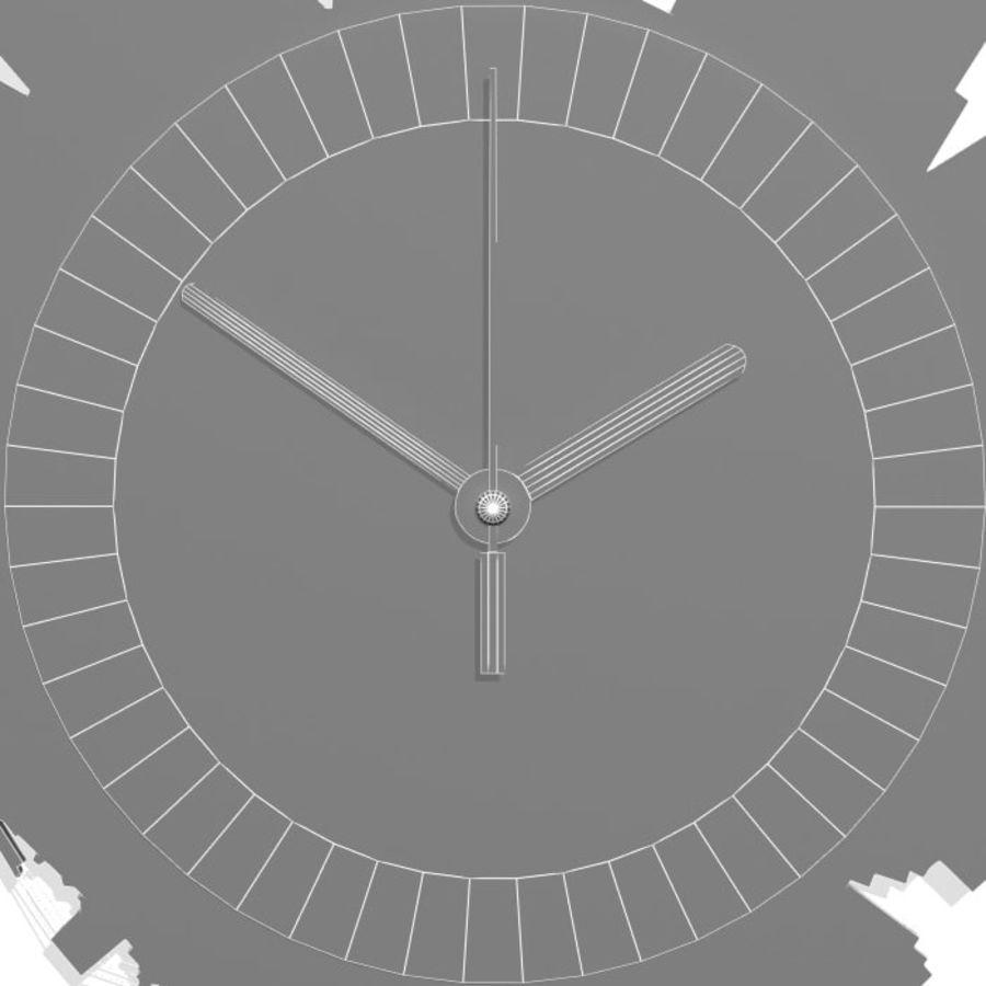 Relógio de Nova York royalty-free 3d model - Preview no. 7