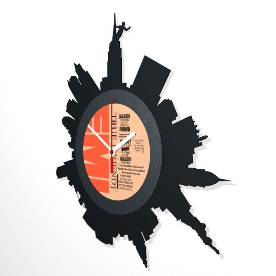 Relógio de Nova York royalty-free 3d model - Preview no. 2