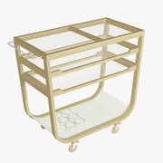 Ikea Kitchen Cart 3d model