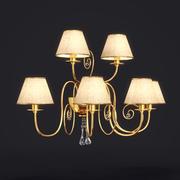 Baga Lamp art 1112 sconce 3d model