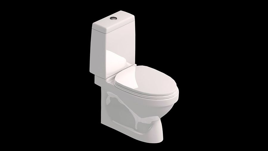 baño royalty-free modelo 3d - Preview no. 1
