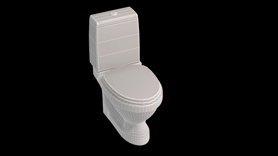 baño royalty-free modelo 3d - Preview no. 2