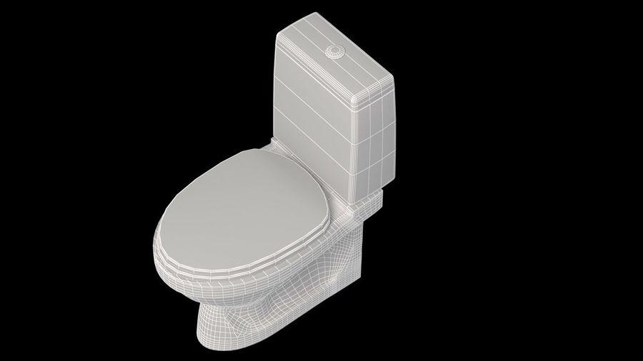baño royalty-free modelo 3d - Preview no. 4