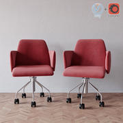 Fotel Kartell Moorea 3d model
