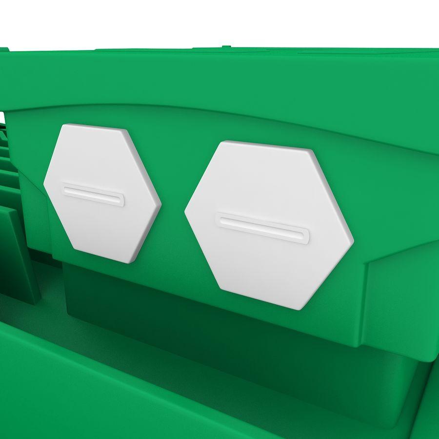 Motor eléctrico royalty-free modelo 3d - Preview no. 8