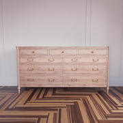Left Blank Drawer dresser 3d model