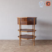 Six Side table 3d model