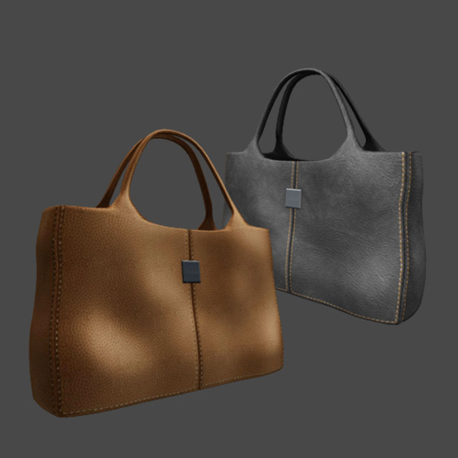 Shopping Bag royalty-free 3d model - Preview no. 1