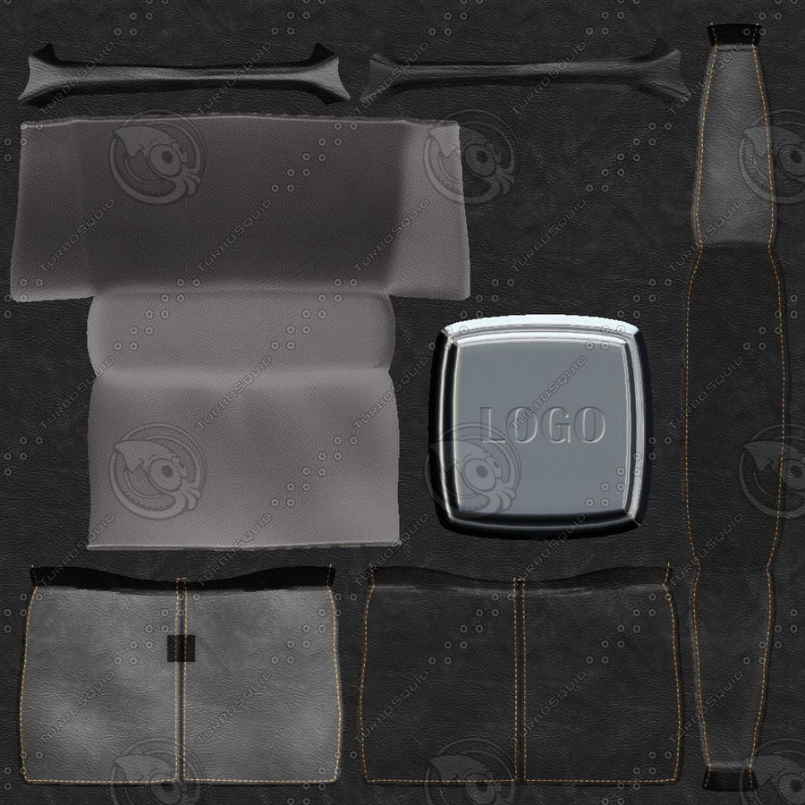 Shopping Bag royalty-free 3d model - Preview no. 6