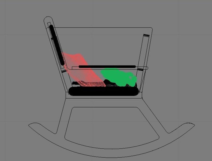 Mobilya koleksiyonu royalty-free 3d model - Preview no. 3