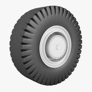Schlepper Aircraft Tractor Wheel 3d model