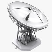 grande antenna parabolica 3d model