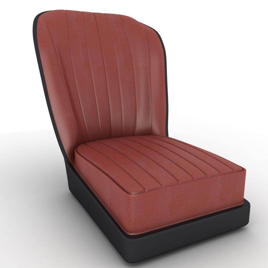Austin Seat royalty-free 3d model - Preview no. 1