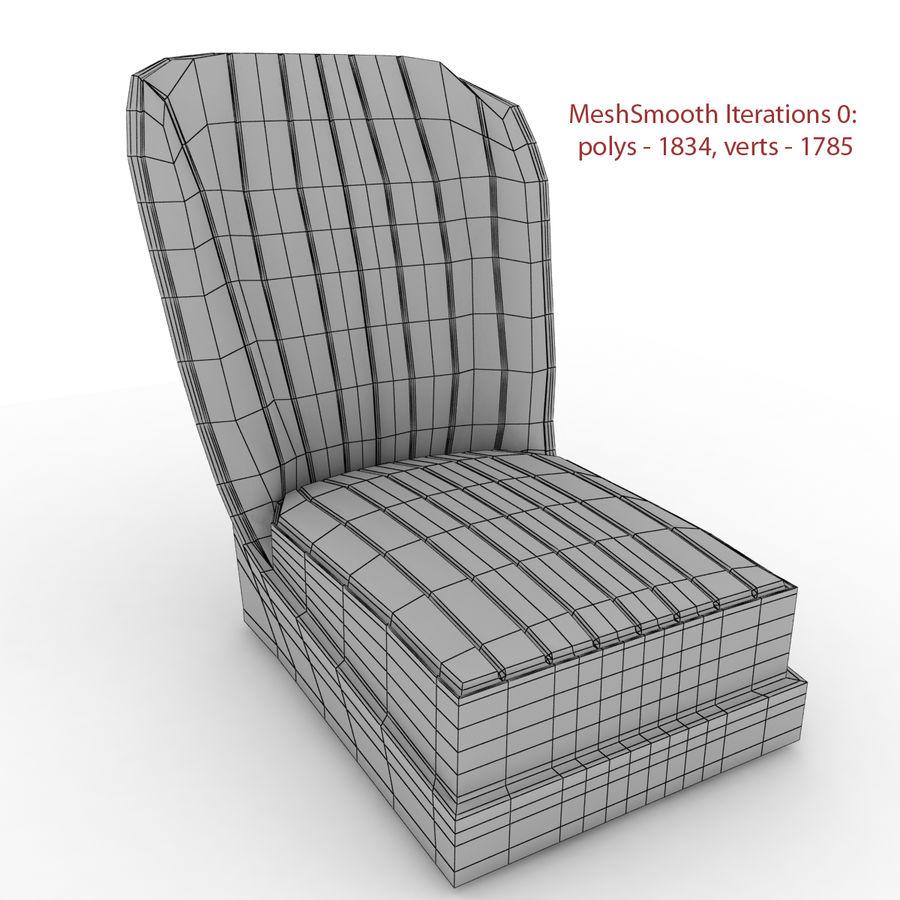 Austin Seat royalty-free 3d model - Preview no. 3