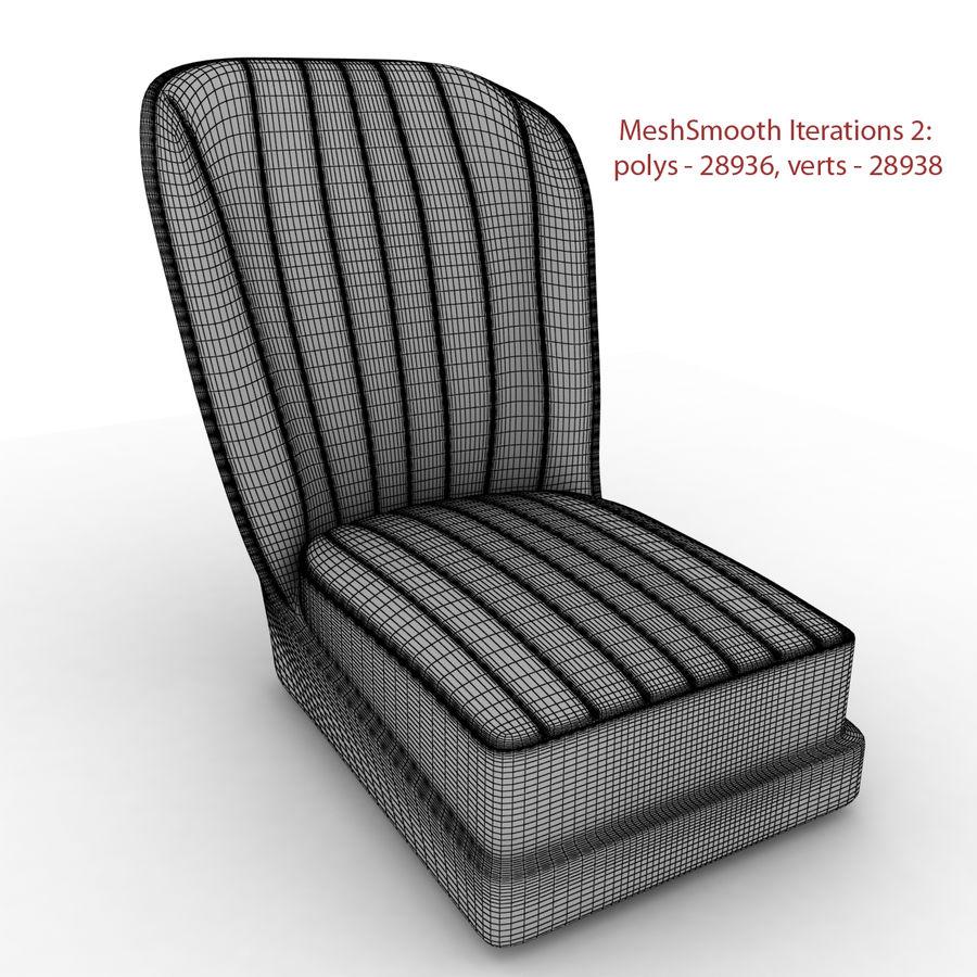 Austin Seat royalty-free 3d model - Preview no. 5