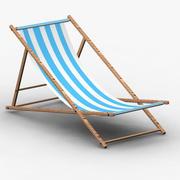 ビーチチェア 3d model