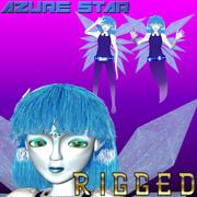 Nebula (Ghost & Fairy Girl) 3d model
