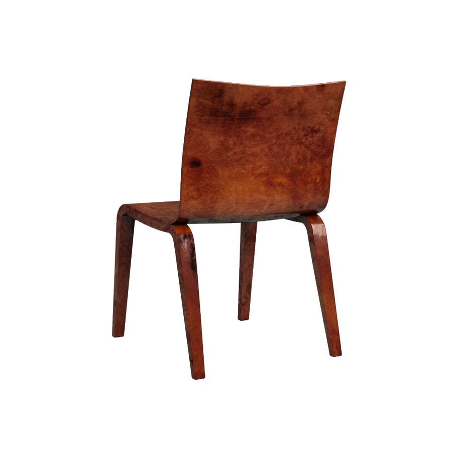 Proste krzesło royalty-free 3d model - Preview no. 9