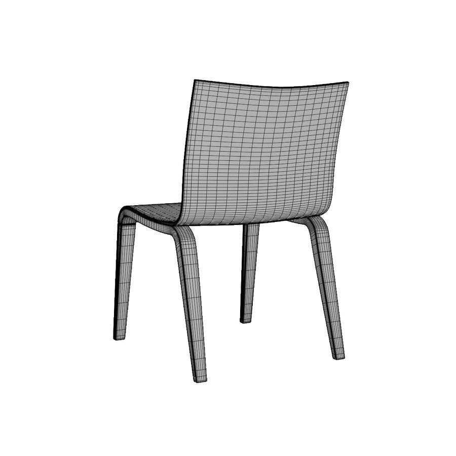 Proste krzesło royalty-free 3d model - Preview no. 11