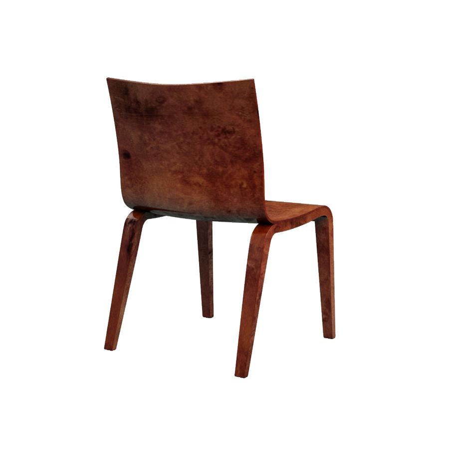 Proste krzesło royalty-free 3d model - Preview no. 13