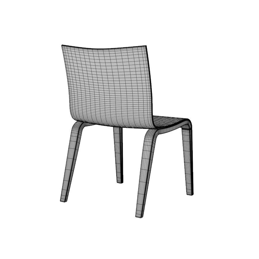 Proste krzesło royalty-free 3d model - Preview no. 15