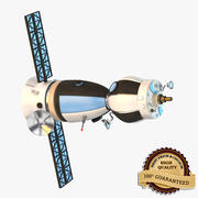 Spy Satellite Orbit 3d model