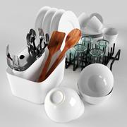 Zestaw kuchenny 3d model