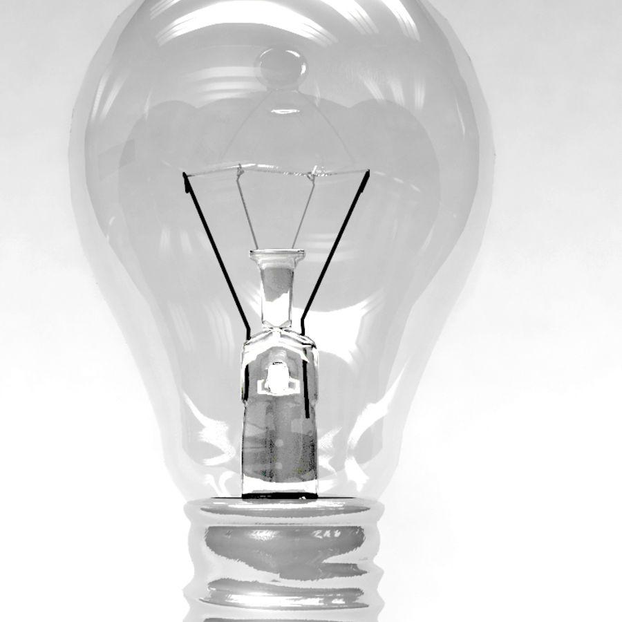 Bombilla de luz royalty-free modelo 3d - Preview no. 1