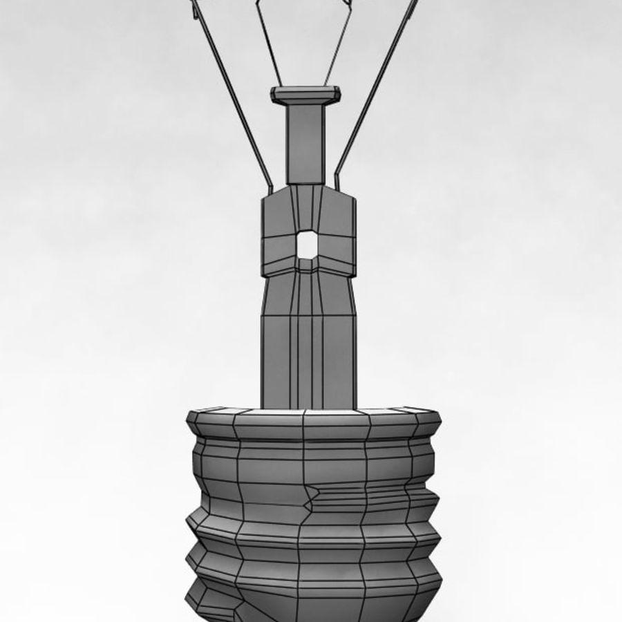 Bombilla de luz royalty-free modelo 3d - Preview no. 4
