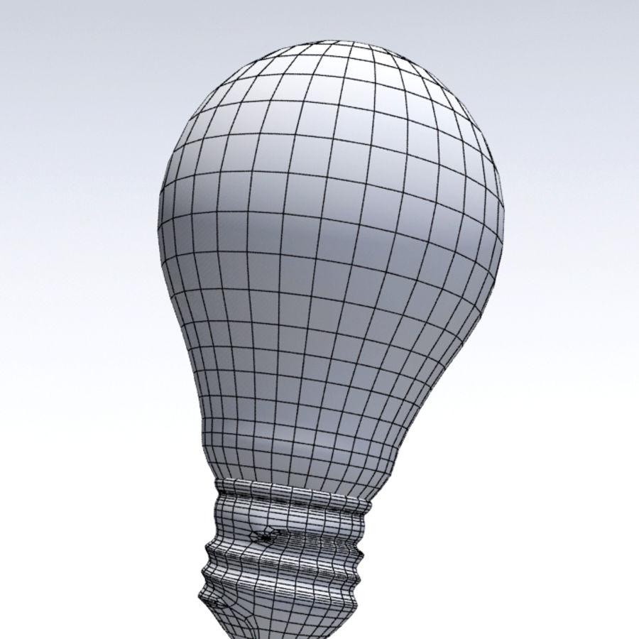 Bombilla de luz royalty-free modelo 3d - Preview no. 5