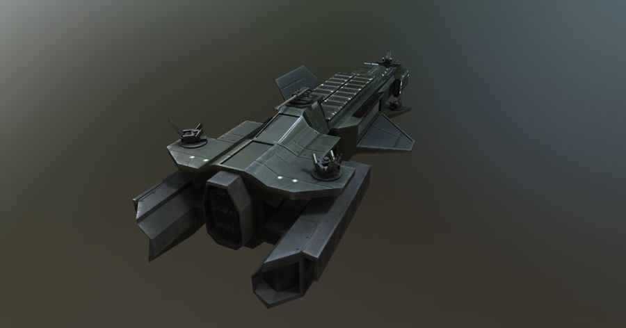 Macherius royalty-free 3d model - Preview no. 5