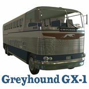 グレイハウンドGX-1 3d model