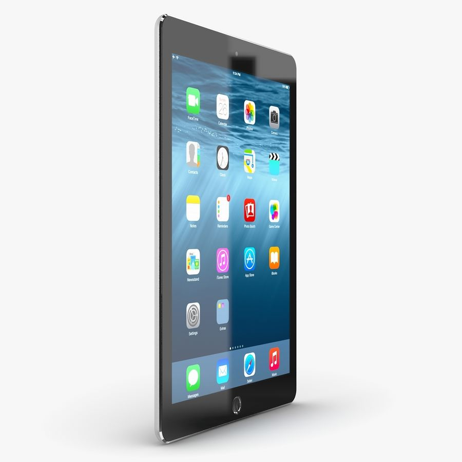 Apple iPad Air 2 royalty-free 3d model - Preview no. 13