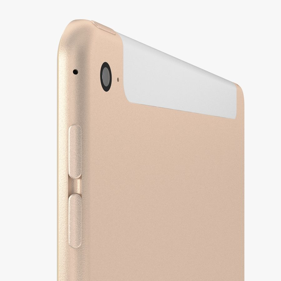 Apple iPad Air 2 royalty-free 3d model - Preview no. 24