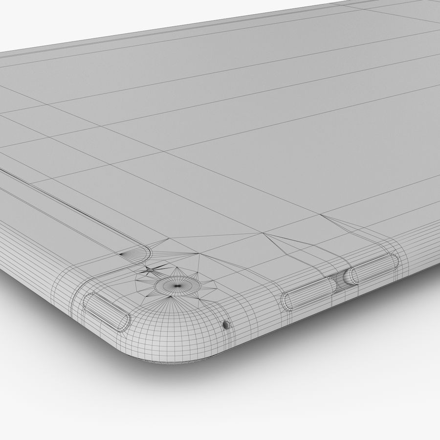 Apple iPad Air 2 royalty-free 3d model - Preview no. 32