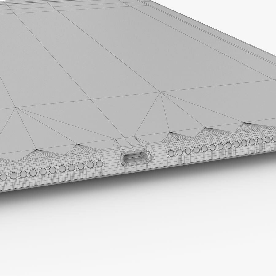 Apple iPad Air 2 royalty-free 3d model - Preview no. 31