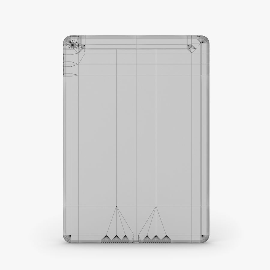 Apple iPad Air 2 royalty-free 3d model - Preview no. 36