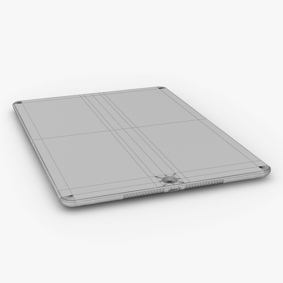 Apple iPad Air 2 royalty-free 3d model - Preview no. 27