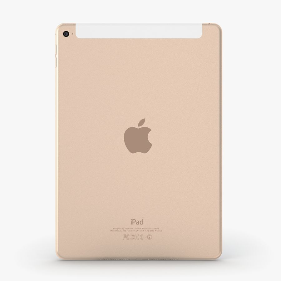 Apple iPad Air 2 royalty-free 3d model - Preview no. 18