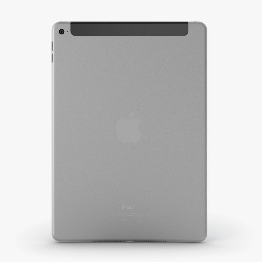 Apple iPad Air 2 royalty-free 3d model - Preview no. 19
